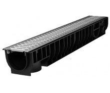 Лоток Ecoteck STANDART 100.125 153х1000х129 мм со стальной решеткой