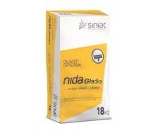 Шпаклівка SINIAT NIDA Gladka гіпсова 18 кг білий