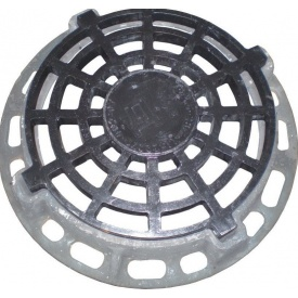 Дождеприемник круглый ДК ИН чугунный 870х115 мм