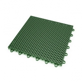 Модульное спортивное покрытие Ecoteck 305х305х16 мм зеленое
