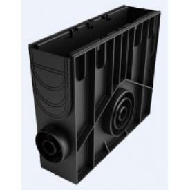 Пескоуловитель Ecoteck MEDIUM 100 пластиковый 153х500х435 мм черный