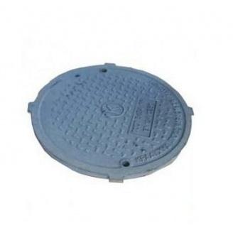 Кришка каналізаційна В-Б ПР чавунна С250 645 мм
