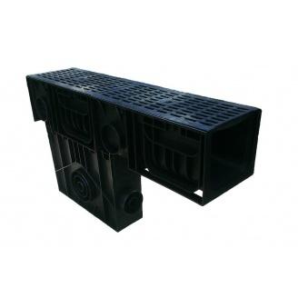 Пісковловлювач Ecoteck STANDART 200 253х1000х633 мм зі сталевими штампованими ґратами