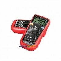 Мультиметр UNI-T UT890C+ до 6000 мкФ 186х91х39 мм красный серый