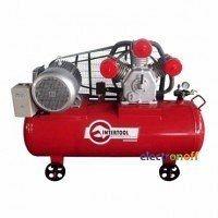 Компрессор Intertool 300 л 15 HP 11 кВт 380 В 8 атм 1600 л/мин 3 цилиндра PT-0050