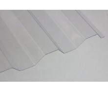 Профилированный ПВХ ONDEX 70/18 трапеция 2500x1095х0,8 мм опал