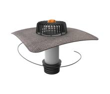 Ремонтна воронка вертикальна з підігрівом і привареним бітумним фартухом