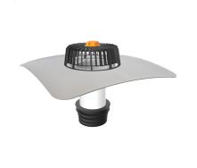 Ремонтна воронка для покрівель без теплоізоляції з привареним фартухом з ПВХ-мембрани