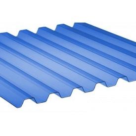 Профилированный ПВХ ONDEX 70/18 трапеция 2500x1095х0,8 мм синий