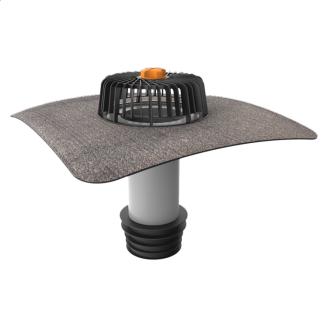 Ремонтна воронка вертикальна з привареним бітумним фартухом