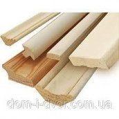 Наличник деревянный прямой срощенный 100х12х2200 мм