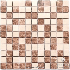 Керамическая мозаика Котто Керамика CM 3023 C2 BEIGE WHITE 300x300x10 мм