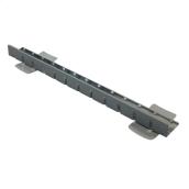 Планка металлическая покрытая пластиком 2000 мм