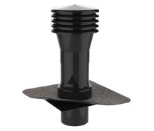 Вентиляционный выход для канализационных стояков XL с приваренным битумным фартуком