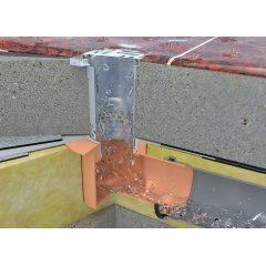 Воронки водосточные для балконов