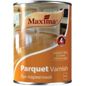 Лак паркетный Parquet varnish MAXIMA бесцветный полуматовый 2,5 л
