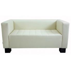 Двомісний диванчик Спейс Річман 1500х740х740 мм кожзам білий