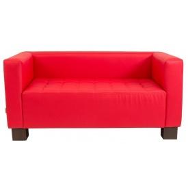 Двомісний диванчик Спейс Річман 1500х740х740 мм кожзам червоний