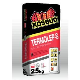 Клей для приклейки пенополистирола Kosbud TERMOLEP-S 25 кг