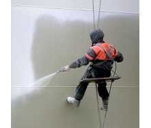 Фарбування конструкцій фарбопультом безповітряним способом