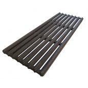 Решітка чавунна гриль-барбекю 155х400 мм
