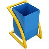 Вулична урна для сміття металева №2 45 л