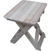 Стільчик розкладний Каси дерев'яний для пікніка