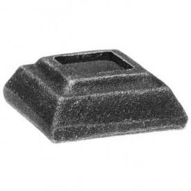 Пятка кованная металлическая 40х40х20 мм (44.127)