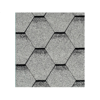 Битумная черепица IKO Armourshield 318х1000 мм Granite Grey