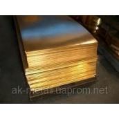 Лист латунный АК-МЕТАЛЛ ЛС59 1,0 мм