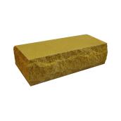 Кирпич T&Z Рваная скала тычковой 230x100x65 мм желтый