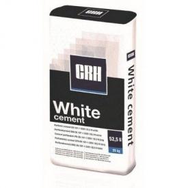 Цемент CRH 25 кг белый