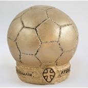 Гіпсова статуетка футбольний м'яч Ст/008 16х14х10 см