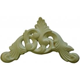 Высококачественный лепной декор Де/065 10,5х22,5х1 см