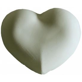 Гипсова раскраска Сердце Дгр/075 12х11х2 см