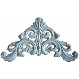 Гипсовый декоративный элемент Де/106 26х43х1,5 см