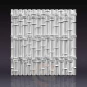 Гіпсові панелі «Бамбук» 3D/10 50х48х2 см