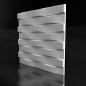 Гіпсові панелі «Брікс»3D/12 50х50х2,5 см