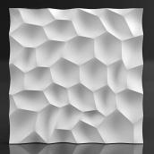 Гіпсові панелі «Слоуп» 3D/16 50х50х2,5 см