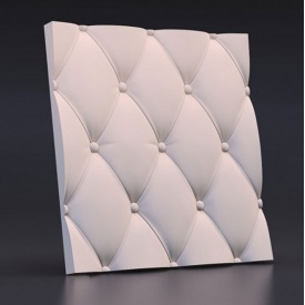 "3D гипсовые панели ""Подушка"" 50х50х2,5 см"