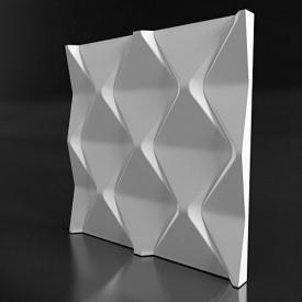 Гіпсові панелі «Falls» 3D/13 50х50х3 см