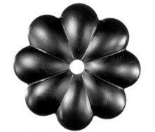 Кований елемент квітки 90х90х10мм (50.006)