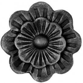 Кований елемент квітка 95х95 мм (50.001)