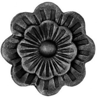 Кованый элемент цветок 95х95 мм (50.001)