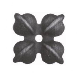 Кований квітка 70х70 мм (50.024)