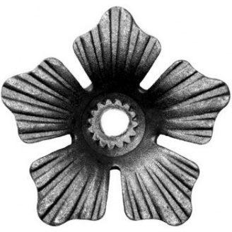Кованый цветок 85х85х10мм (50.022)