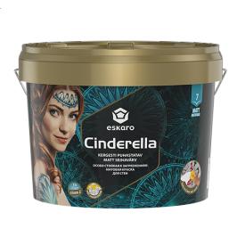 Особо стойкая к загрязнениям матовая краска для стен Eskaro Cinderella 9 л
