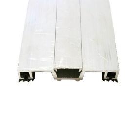 Соединительный алюминиевый профиль крышка прямая 60 мм 6 м