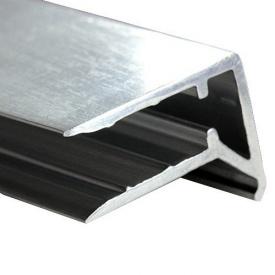 Алюминиевый торцевой профиль 8 мм 6 м