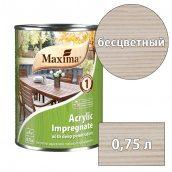 Морилка акриловая глубокого проникновения Acrylic Impregnate MAXIMA бесцветный 0,75 л